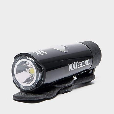 Luz Delantera Recargable para Bicicleta CatEye Volt 80 XC, Negro, Talla Única: Amazon.es: Deportes y aire libre