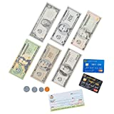 Learn & Climb Play Money Set for Kids – Realistic