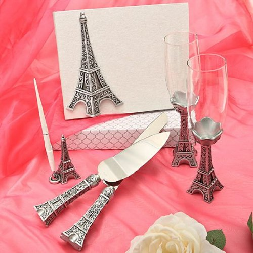 Eiffel Tower Design Wedding Day -