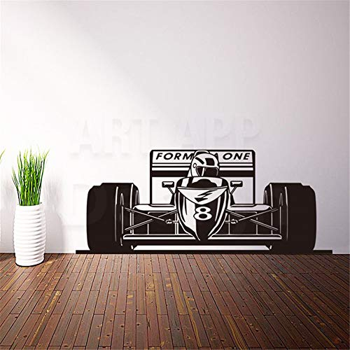 Oifes Vinyl Peel and Stick Mural Removable Decals Art House Decor Formula Racing Car Wall Decals Home Decoration Colorful X Sports Sticker