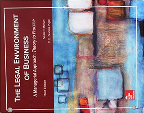 Legal environment of business a managerial approach theory to.