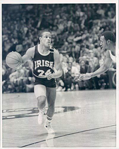 (Historic Images - 1984 Vintage Press Photo Notre Dame Fighting Irish Basketball Joe Howard - snb14907)