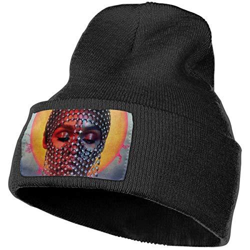 Enghuaquj Janelle Monáe - Dirty Computer Lyrics Knitted Hat Cap Beanie Black