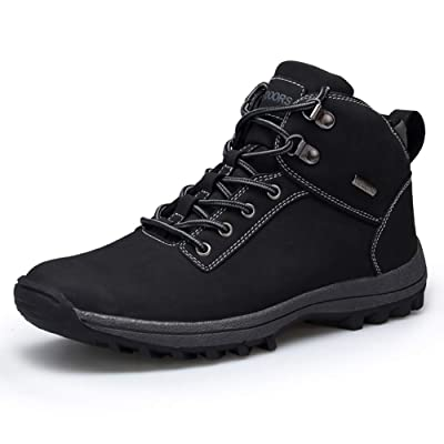 UBHOME Mens Hiking Boots Ankle Support Waterproof Breathable Winter Outdoor Sports Shoes | Hiking Shoes