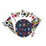 Octopus Colorful Marine Life Pattern Poker Playing Card Tabletop Board Game Gift