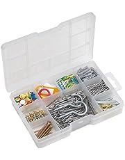 Metafranc assortimentsdoos - voorgesorteerde onderdelen in praktische kunststof doos - geschikt voor huis, werkplaats enz. / Assortiment box/klein ijzerassortiment