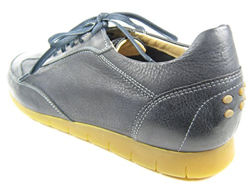 Sioux Deno, Low-Top Sneaker uomo Blau