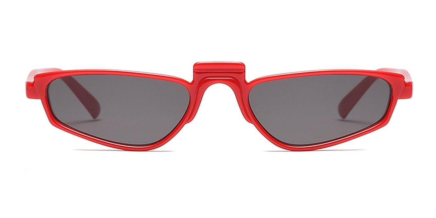 TIJN Damen Sonnenbrille Mode Kleine Schmale Quadratischen Rahmen ...