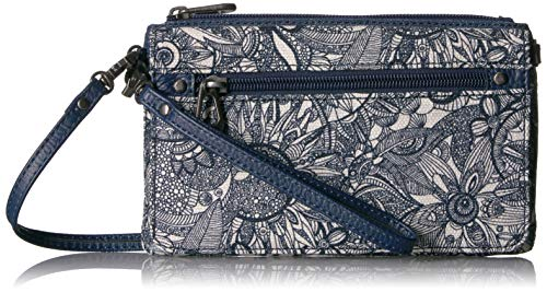 Sakroots Wallet, Navy Spirit