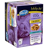 HiLife Indulge Me! Cat Food Flaked Tuna in Jelly Combination- Pack of 3 ( 18 x 80g Pouches)