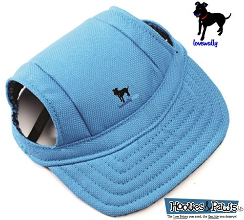 LoveWally Dog Outdoor PET Hat Blue ♦ Adjustable Authentic (Large) by LoveWally (Image #1)
