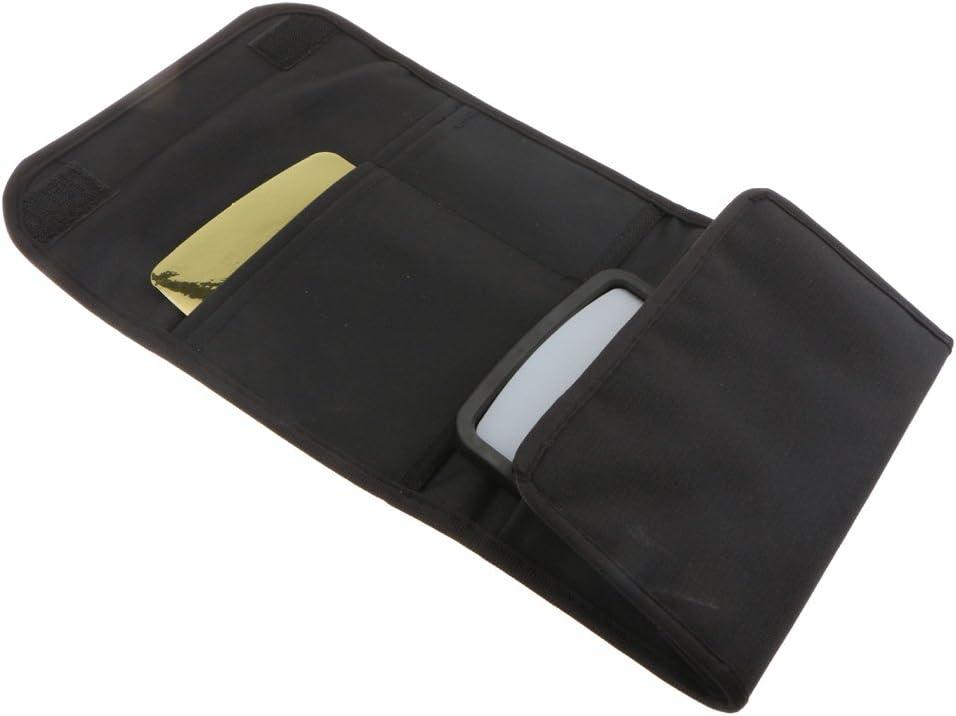 4 Color Card Universal Flash Light Diffuser Reflector Unit Storage Bag