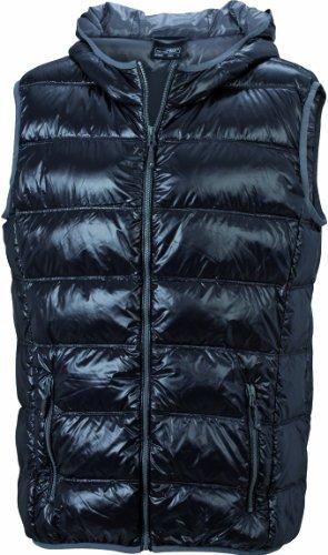 Nicholson vest James Black Men's Grey down hombre Chaqueta amp; para Negro RqxxwC7I