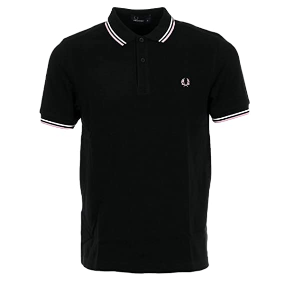 cdacf7a7 Fred Perry Twin Tipped Shirt, Polo Shirt - XS Black: Amazon.co.uk ...