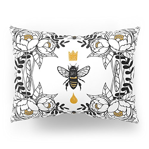 Society6 Queen Bee Pillow Sham Standard (20'' x 26'') Set of 2 by Society6