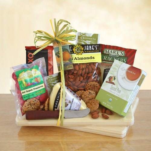 Magical Gathering Organic Party Tray Gift Basket by Organic Stores (Food Hamper Delivery)