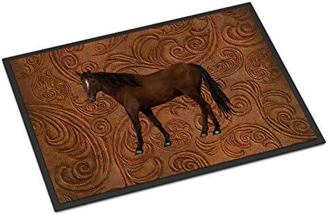 Caroline s Treasures SB3066JMAT Horse Indoor or Outdoor Mat 24×36, 24H X 36W, Multicolor