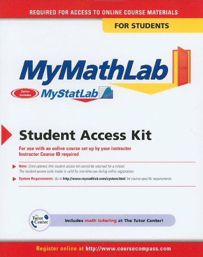 MyStatLab -- Standalone Access Card -- for Statistics for...