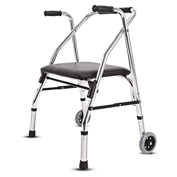 Amazon.com: SCJ - Caminero plegable para ancianos con ...
