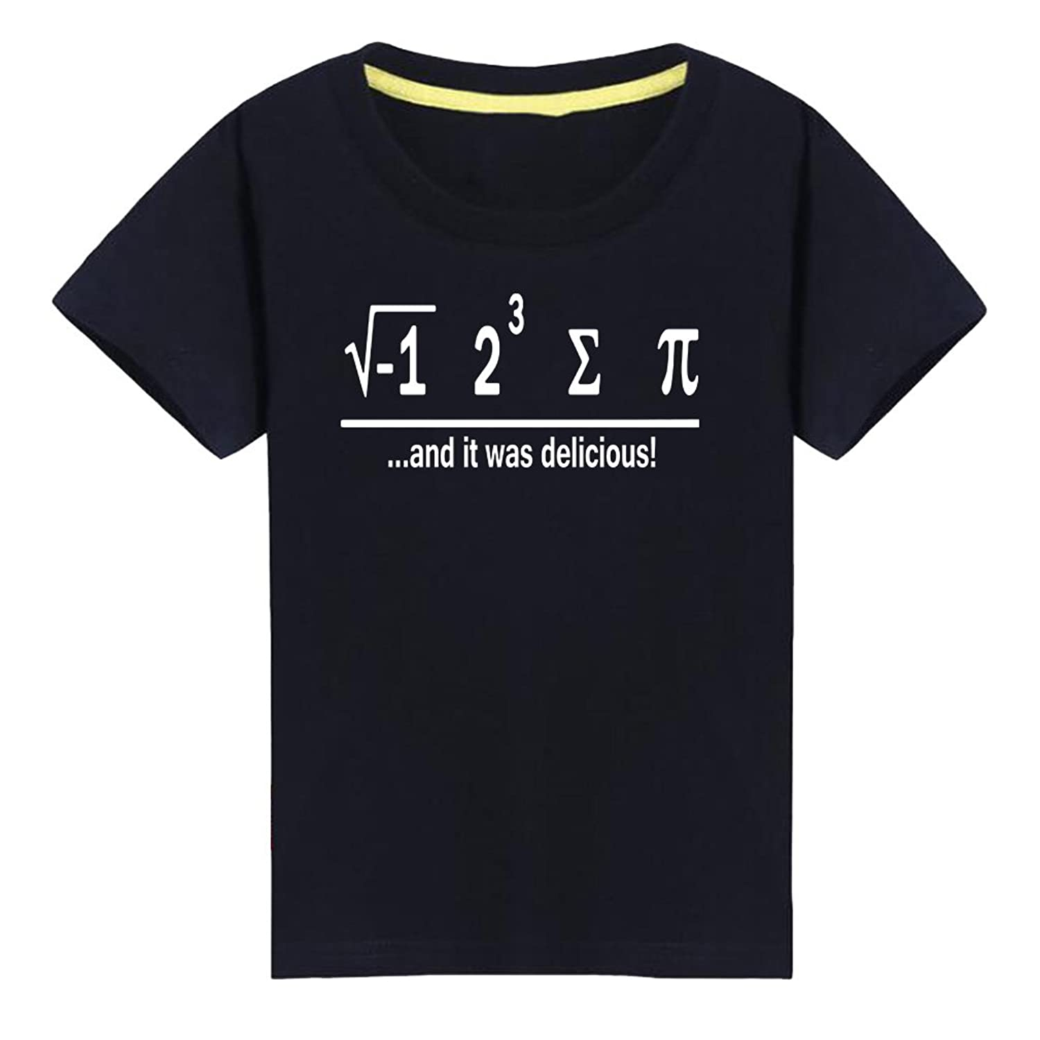 Kids I Ate Some Pie And It Was Delicious Math Geeks Gift T-Shirt