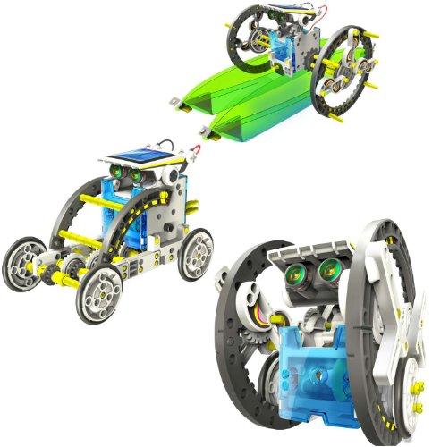 14-in-1 educational kit solar robot kids toy (14 In 1 Solar Robot Kit)