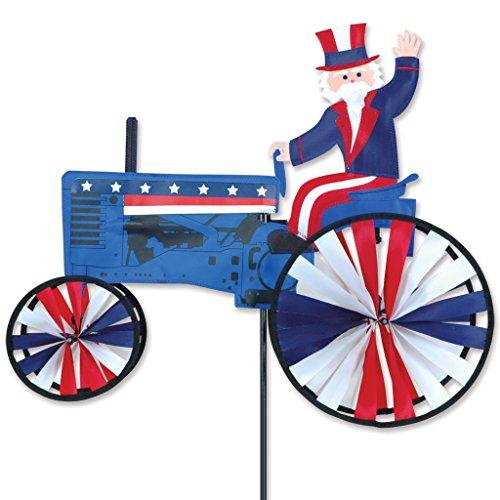 - Premier Designs Premier Designs 21 in. Uncle Sam Tractor Spinner, Nylon