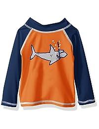 Flap Happy baby-boys Baby Baby Boys Upf 50+ Graphic Rash Guard/Swim Top