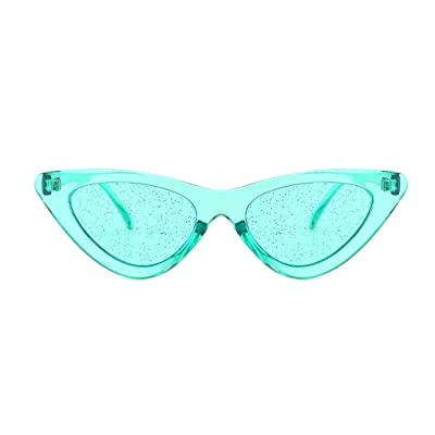 fish Marco de la Forma de los Ojos de Las Mujeres Gafas de Viajes Vasos de Jalea Chica Gafas de Sol de Color Lentes ópticas: Hogar