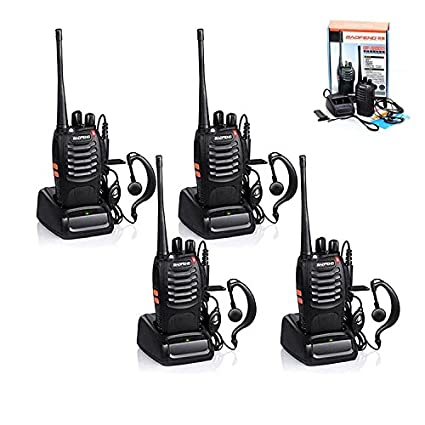 Amazon.com: 4pcs Baofeng Walkie Talkie, BF-888S Two Way ...