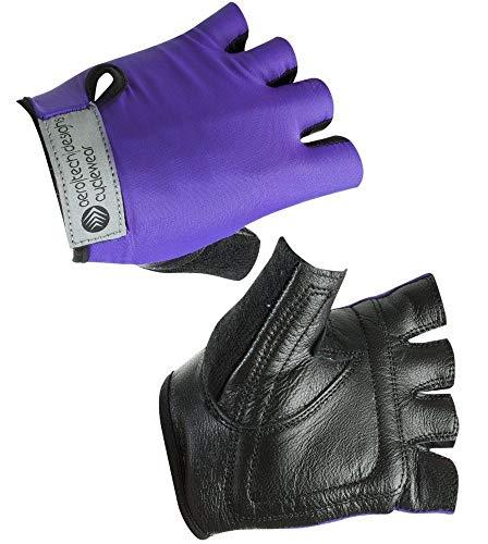 AERO|TECH|DESIGNS Child Bike Gloves in Purple Large (6-8)