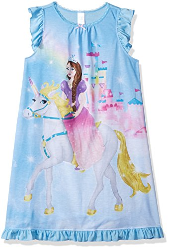 Childrens Blue Nightgown - 4