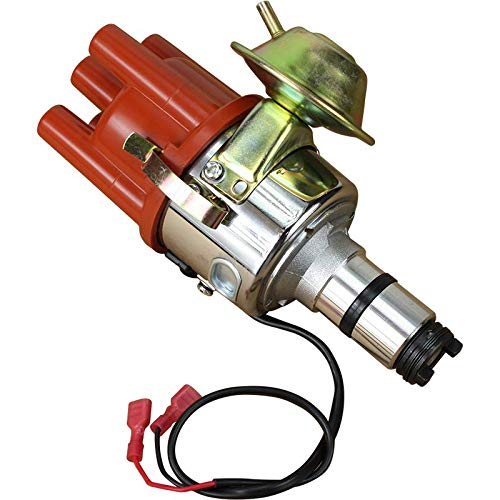 (Electronic Ignition Distributor For 1955-1979 Porsche and VW Bosch 009 W/Vacuum OEM Fit DSVDAVW)