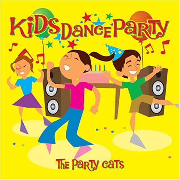 The Party Cats Kids Dance Party Amazon Com Music