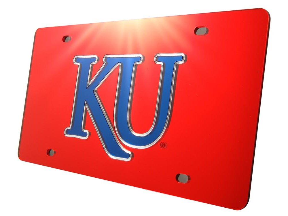 WinCraft Kansas University of S01900 Acrylic Classic License Plates
