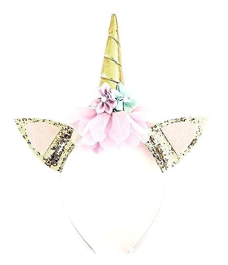 Diadema de cuerno de unicornio - cabello - accesorios - disfraz ...