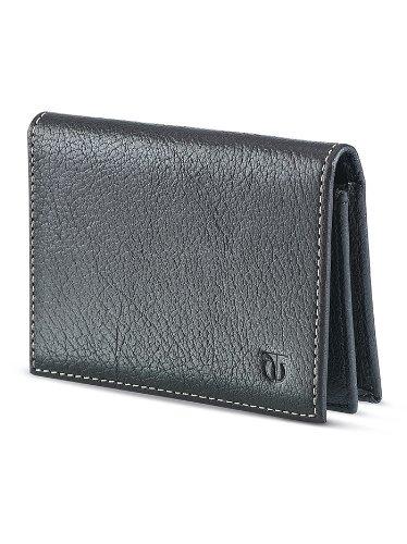 TITAN Black Leather Men #39;s Wallet  TW156LM1BK