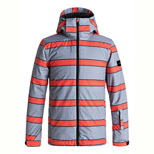 Quiksilver Mission Printed Insulated Snowboard Jacket Boys