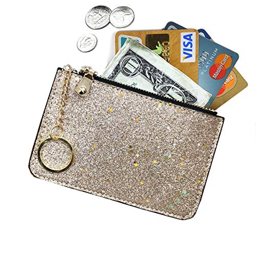 AnnabelZ Coin Purse Change Wallet Pouch Bling Card