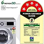 LG 8.0 Kg 5 Star Inverter Fully-Automatic Front Loading Washing Machine (FHM1208ZDL, Luxury Silver, Direct Drive…