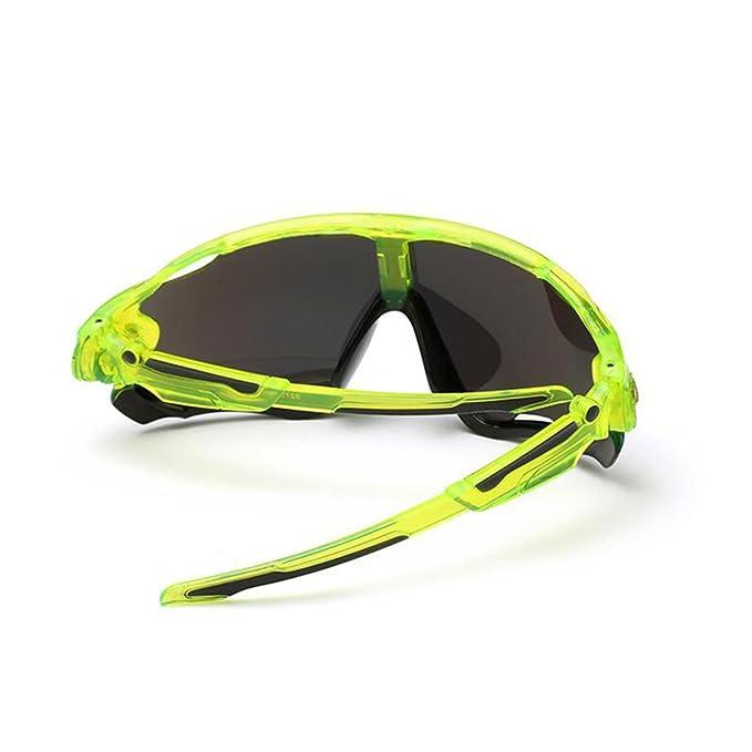 KRY UV400Occhiali da sole sportivi da uomo, infrangibili, montatura in metallo, ideali per guida, golf e pesca, Uomo, Black, 145mm 50mm 122mm