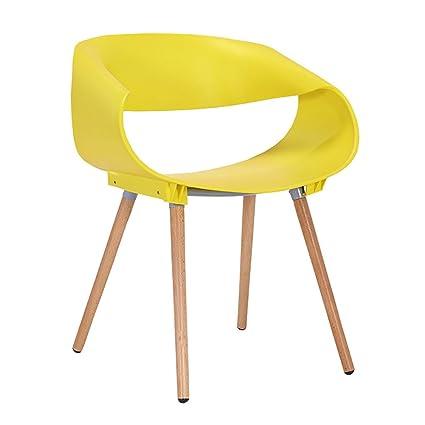 Mena Uk Retro sedie di legno di plastica dell\'ABS Poltrona delle ...