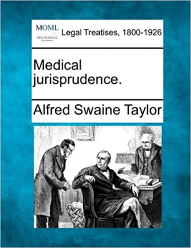 Medical jurisprudence.