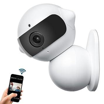ChiTronic® Cámara IP inalámbrica – Mini Robot casa wifi cámara de vigilancia de seguridad y