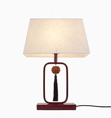LanternsRiddles® Lámpara de mesa retro minimalista decoración de ...