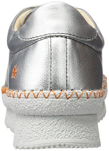 Art Pedrera Basses Metali Sneakers Argent Femme 1350s Plata ZwZzqrA