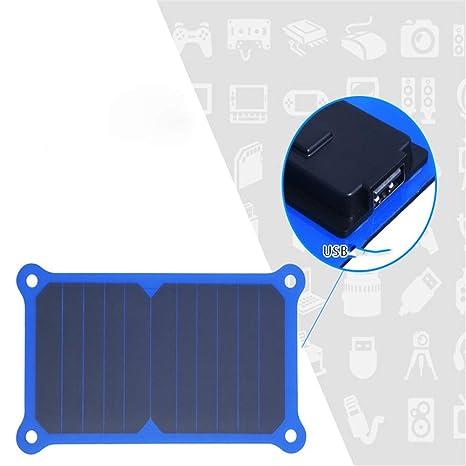 ZDNP Cargador Solar Plegable de 6 W, módulo Batería de ...