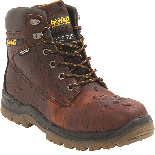 DeWalt Titanium S3 Safety Work Boots Size 10 Tan