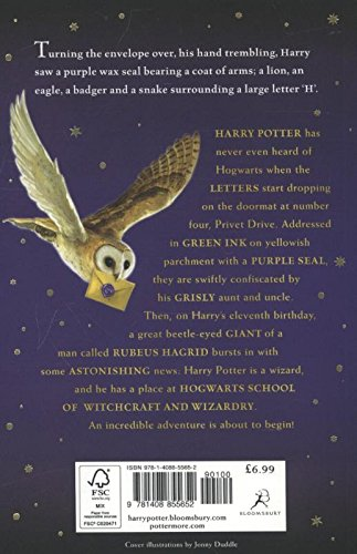 HARRY POTTER 1 AND THE PHILOSOHER STONE NE: 1/7: Amazon.es ...