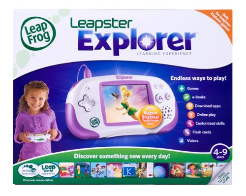 LeapFrog Leapster Explorer Learning Game System, Purple by LeapFrog (Image #2)
