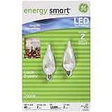 GE energy smart LED 2 Watt Decorative Bulbs – 2 pk.